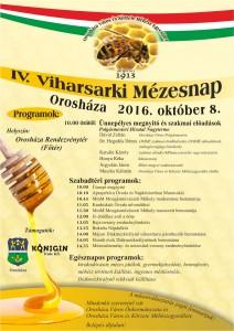 Viharsarki Mézesnap plakát